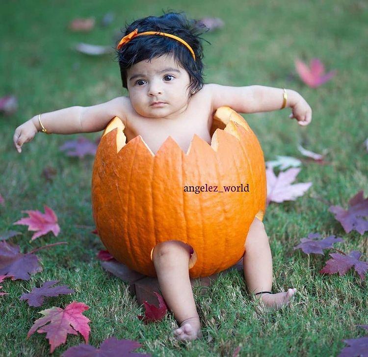baby-model-pumpkin-style